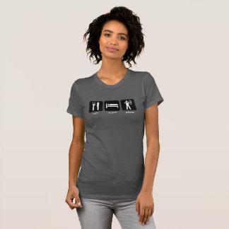 Eat Sleep Draw | Funny Archery Theme T-Shirt