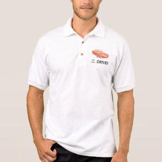 Eat sleep drive TVR Tasmin shirt, red Polo Shirt