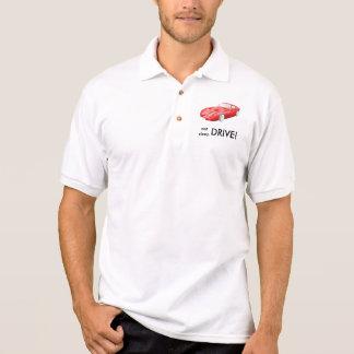 Eat sleep drive TVR Tuscan shirt, red Tuscan Polo Shirt
