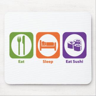 Eat Sleep Eat Sushi Mouse Pad
