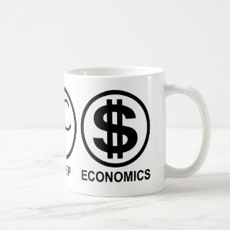 Eat Sleep Economics Coffee Mug
