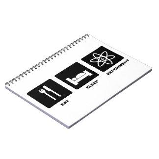 Eat Sleep Experiment Notebook