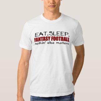 Eat Sleep Fantasy Football Tshirts