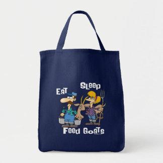 Eat Sleep Feed Goats Tote Bag
