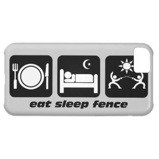 eat sleep fence iPhone 5C cases