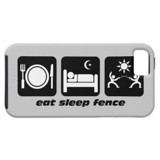 eat sleep fence case for the iPhone 5