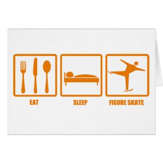 Eat Sleep Figure Skate Cards