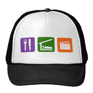 Eat Sleep Film Production Cap