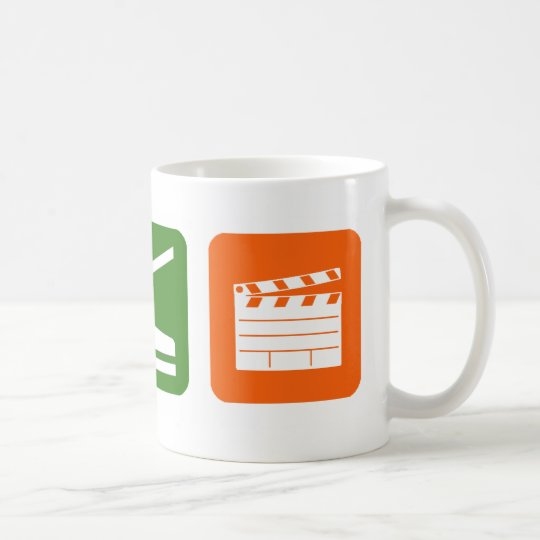 Eat Sleep Film Production Coffee Mug