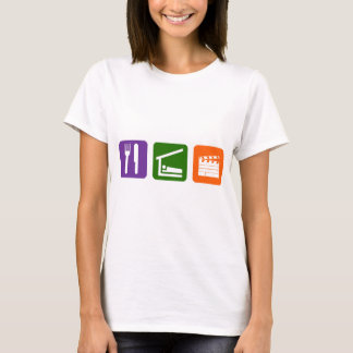Eat Sleep Film Production T-Shirt