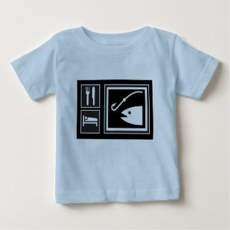 Eat Sleep FISH! Baby T-Shirt