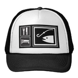 Eat Sleep FISH! Cap