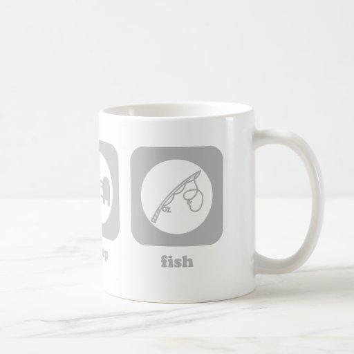 Eat. Sleep. Fish. Mug