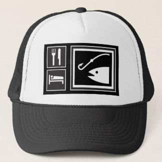 Eat Sleep FISH! Trucker Hat