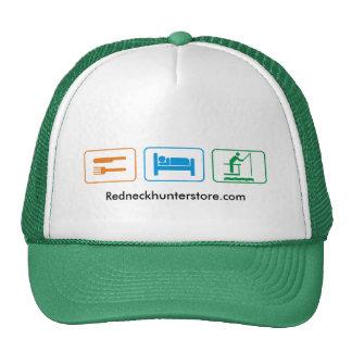 eat sleep - fish trucker hat