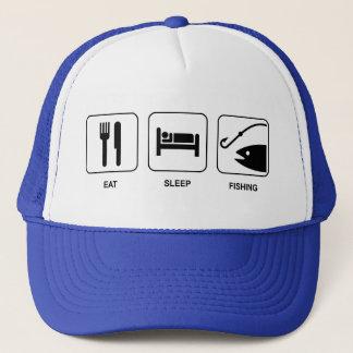 Eat Sleep Fishing Hat