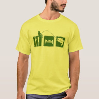 Eat Sleep fishing T-Shirt