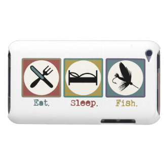 Eat Sleep Fishing Trout iPod Touch Case