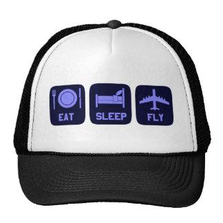 Eat Sleep Fly Cap