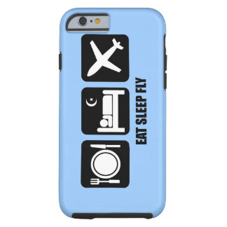 eat sleep fly iPhone 6 case