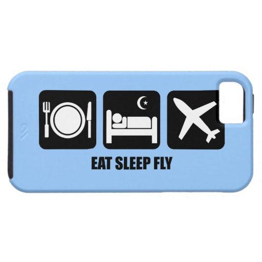 eat sleep fly iPhone 5 covers
