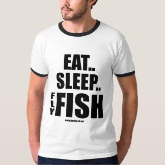 Eat Sleep Fly Fish T Shirts