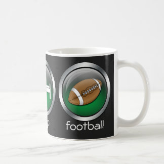 Eat Sleep Football :: Mug