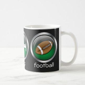 Eat Sleep Football :: Mug