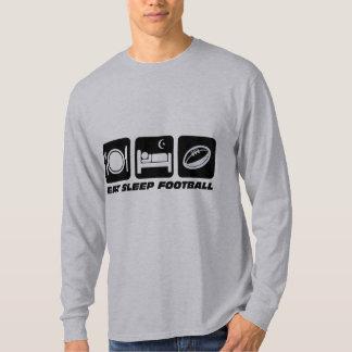 eat sleep football shirts