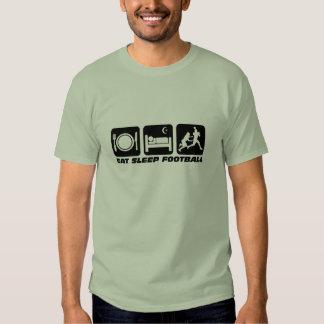 eat sleep football t-shirts