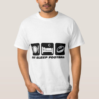 eat sleep football tee shirts