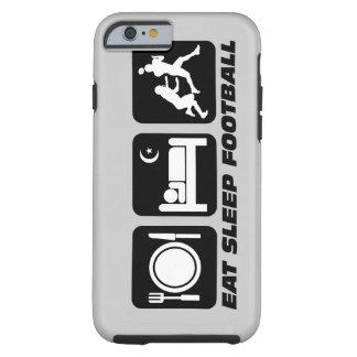 eat sleep football tough iPhone 6 case
