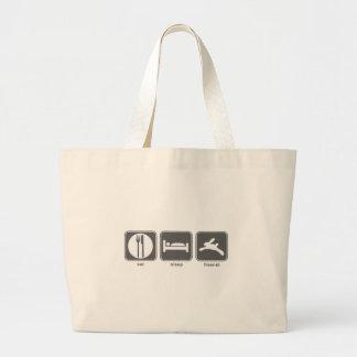 Eat Sleep Freenet Canvas Bags
