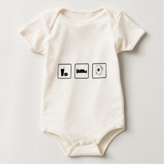 Eat Sleep Gamble Baby Bodysuits