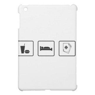 Eat Sleep Gamble iPad Mini Cases