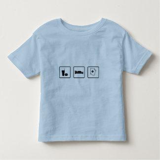 Eat Sleep Gamble T Shirts