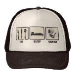 Eat Sleep Gamble Trucker Hat