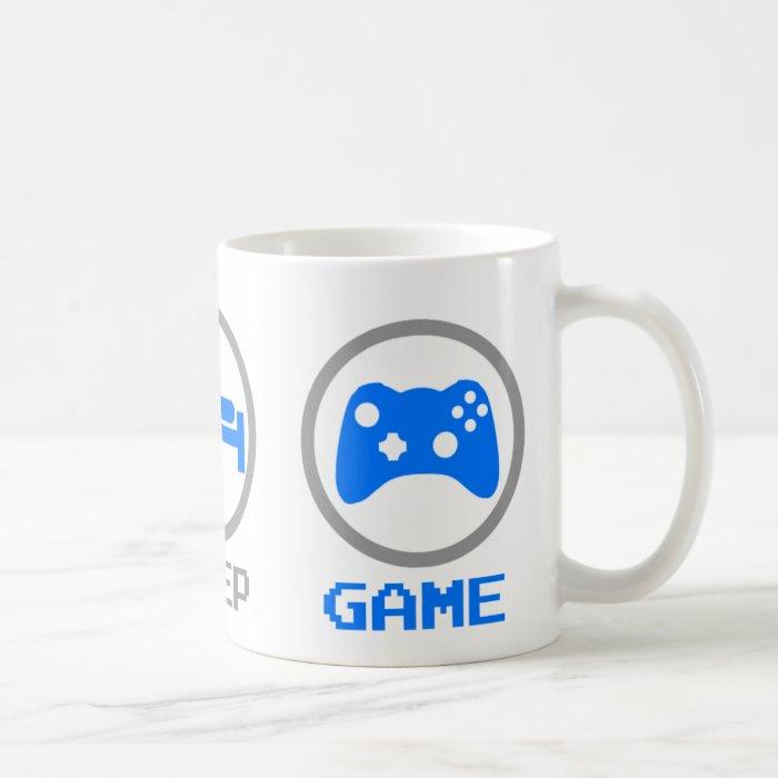 Eat Sleep Game Again - Gamer, geek video games Coffee Mug