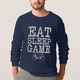 Eat Sleep Game Funny Gamers Sweater