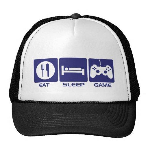 Eat Sleep Game - Gamer Geek Video Games Trucker Hats