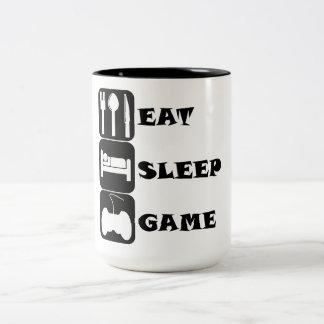 Eat Sleep Game Coffee Mugs