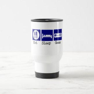 Eat, Sleep, Game Stainless Steel Travel Mug