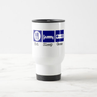 Eat, Sleep, Game Travel Mug