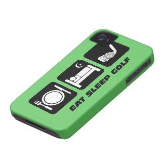 eat sleep golf iPhone 4 cases