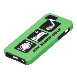 eat sleep golf iPhone 5 case