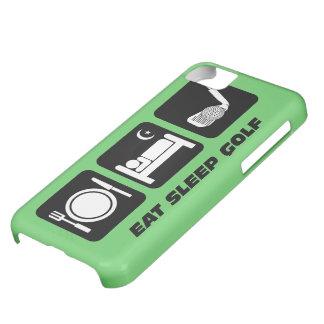 eat sleep golf iPhone 5C cover