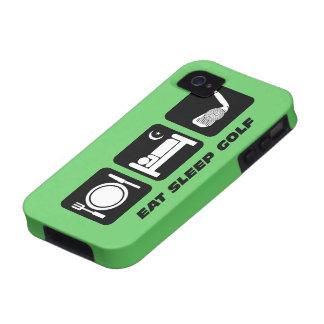 eat sleep golf iPhone 4/4S case