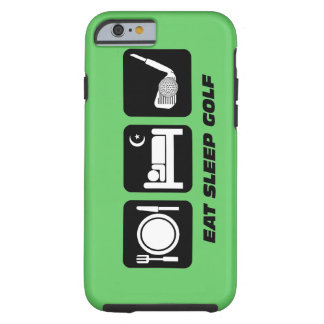 eat sleep golf tough iPhone 6 case