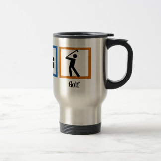 Eat Sleep Golf Travel Mug