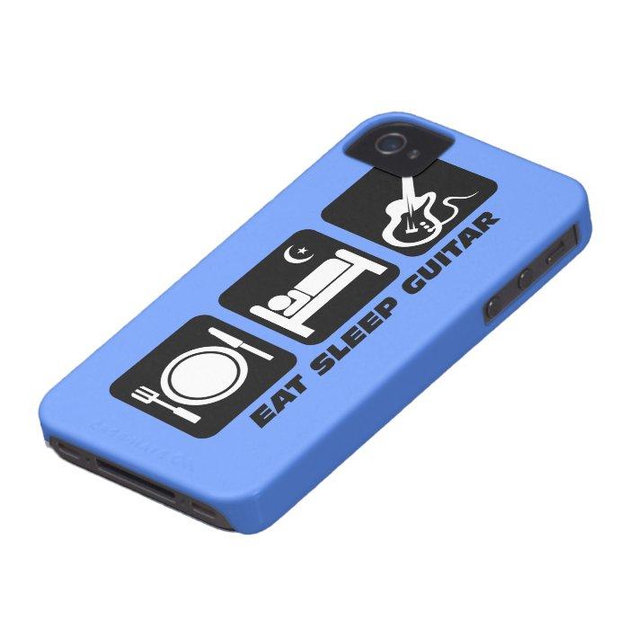 eat sleep guitar Case-Mate iPhone 4 case